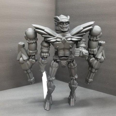 82dd75d62c0599233ec9a2489e32548e_display_large.jpg Télécharger fichier STL gratuit Robot articulé personnalisable • Plan pour impression 3D, LittleTup