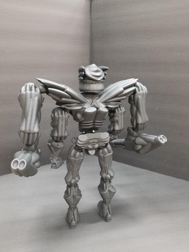83bc19ef9508b69a313036c77dc66b5d_display_large.jpg Télécharger fichier STL gratuit Robot articulé personnalisable • Plan pour impression 3D, LittleTup