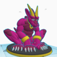 Last_Golden_Horn_1.png Download free STL file Last Golden Horn • 3D printer object, LittleTup