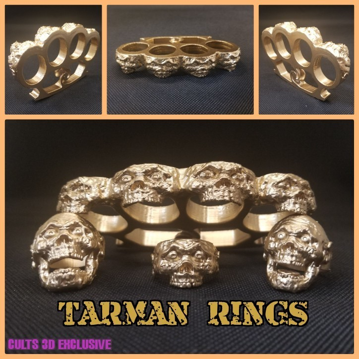 wwww.jpg Download free STL file TARMAN RINGS • 3D print template, LittleTup