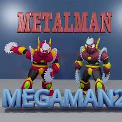 Download free 3D printer designs METALMAN from MEGAMAN2., LittleTup