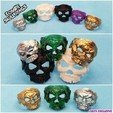 zombie ring .jpg Download free STL file Zombie Skull Ring • 3D printer model, LittleTup