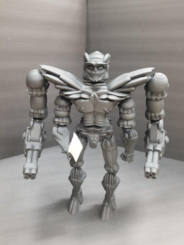 f5de0a5482826b17039cb571107d7ac3_display_large.jpg Télécharger fichier STL gratuit Robot articulé personnalisable • Plan pour impression 3D, LittleTup