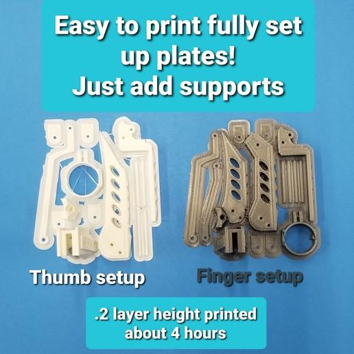 20200329_185749.jpg Télécharger fichier STL Doigts et pouces de robot et MISE À JOUR avec parties de doigts plus longues 3 tailles • Design à imprimer en 3D, LittleTup