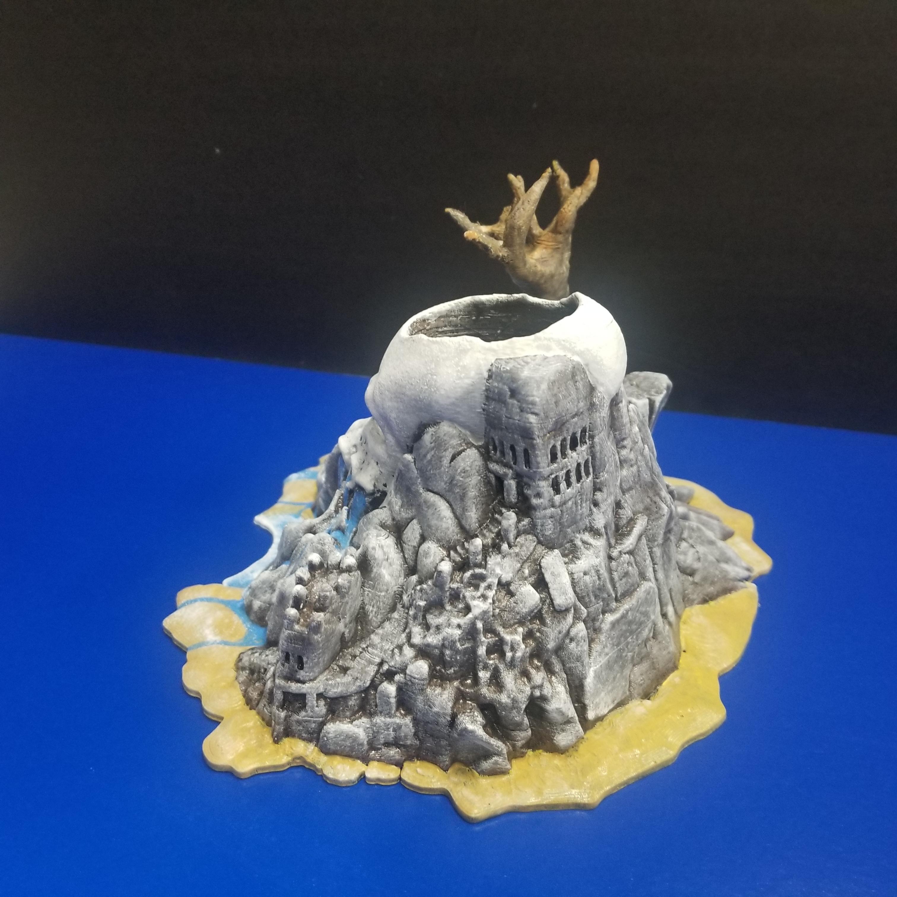 20200125_214507.jpg Download free STL file Cthulhu Island • 3D printable design, LittleTup