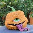 20201004_150939.jpg Download free STL file TofuRevolution's One-eyed pumpkin  • 3D printable template, LittleTup