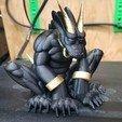 20190326_232019.jpg Download free STL file Last Golden Horn • 3D printer object, LittleTup