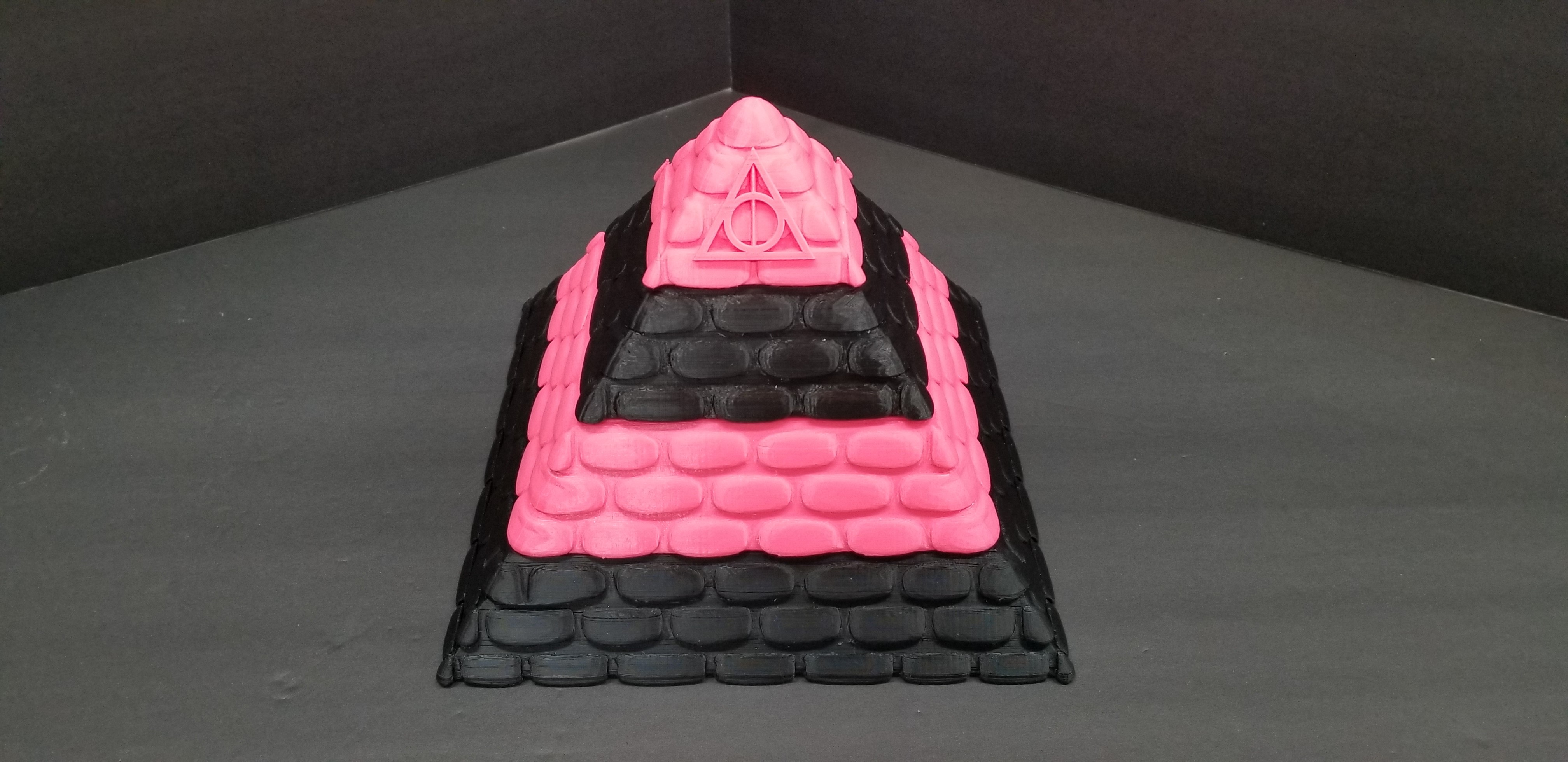 20190528_181505.jpg Download free STL file POTTER PYRAMID BOX with a Chamber of secrets • Template to 3D print, LittleTup