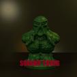 Download free 3D printer files SWAMP THING, LittleTup