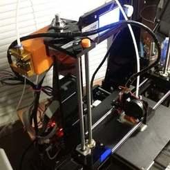 Télécharger fichier STL gratuit ANET A6 Bowden bracket EZ setup • Plan imprimable en 3D, LittleTup