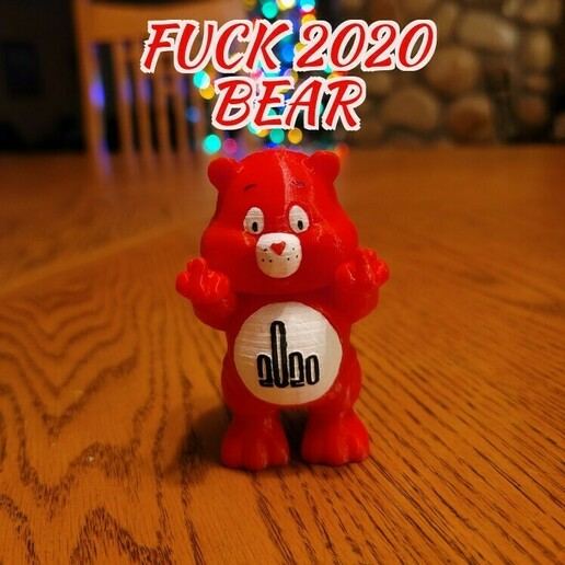 f 2020.jpg Download STL file No Care Bear Collection • 3D printable object, LittleTup