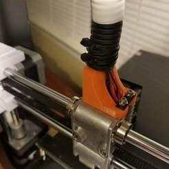 Descargar modelo 3D gratis Soporte para tubos bowden JG AURORA mejorado A5, LittleTup