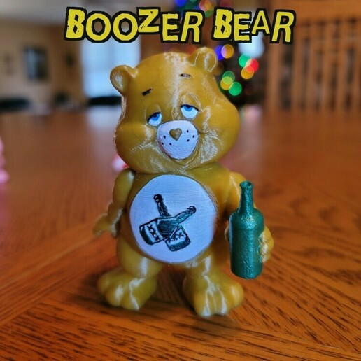 boozer bear.jpg Télécharger fichier STL Collection No Care Bear #2 • Modèle à imprimer en 3D, LittleTup