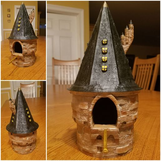20200504_201338.jpg Download free STL file Harry Potter Birdhouse • 3D printable template, LittleTup