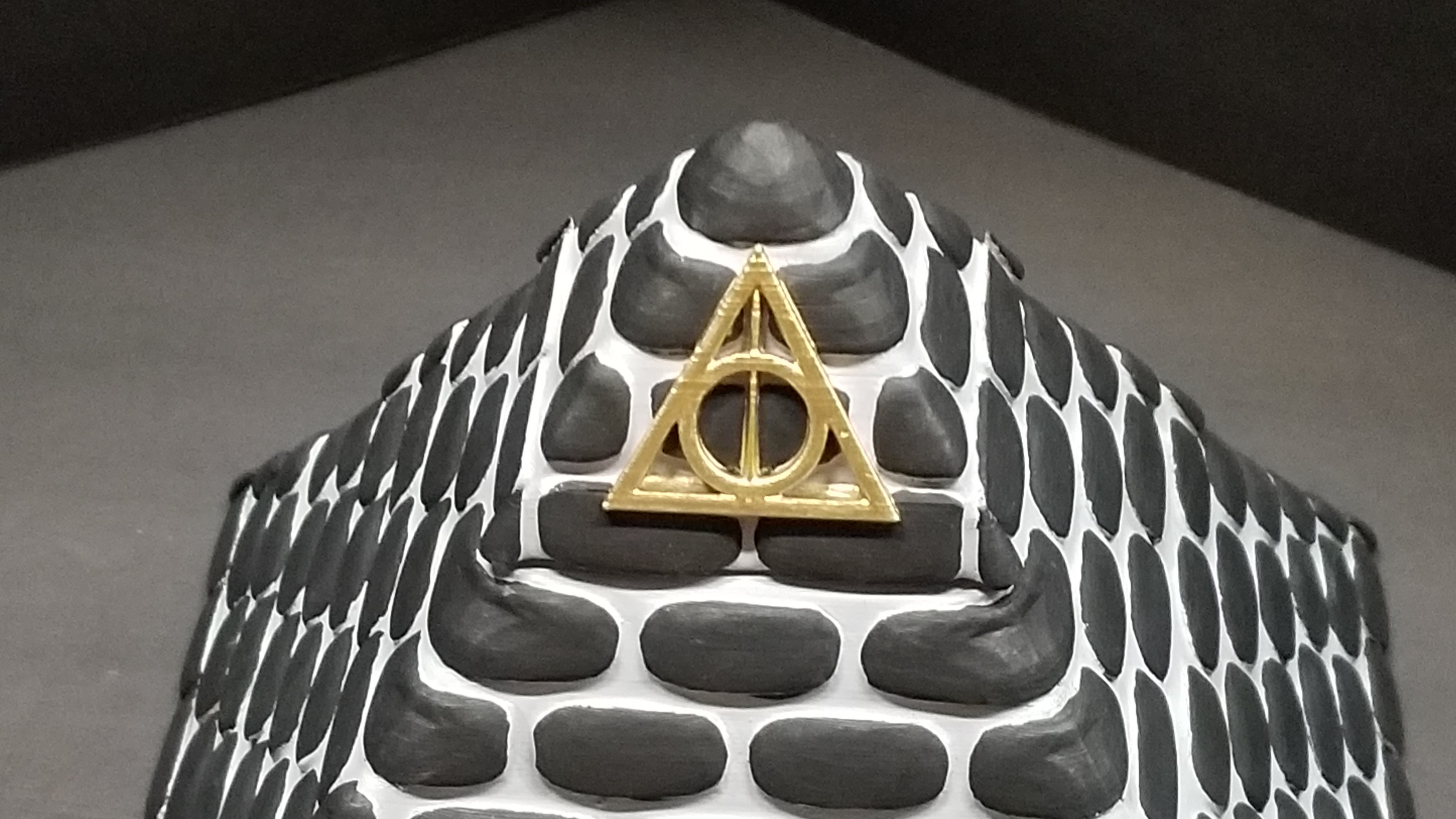 20190529_031534.jpg Download free STL file POTTER PYRAMID BOX with a Chamber of secrets • Template to 3D print, LittleTup