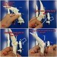 Download 3D print files Bone Finger Updated , LittleTup