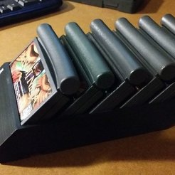 Download free 3D printing designs atari jaguar cart holder, LittleTup