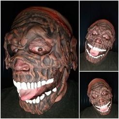 Download free 3D printer designs TARMAN ZOMBIE MASK, LittleTup