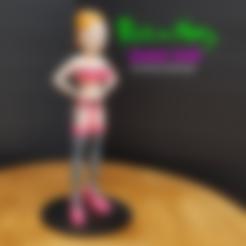 Descargar archivo 3D gratis Summer Smith de Rick and Morty Pleasure Chamber episodio, LittleTup