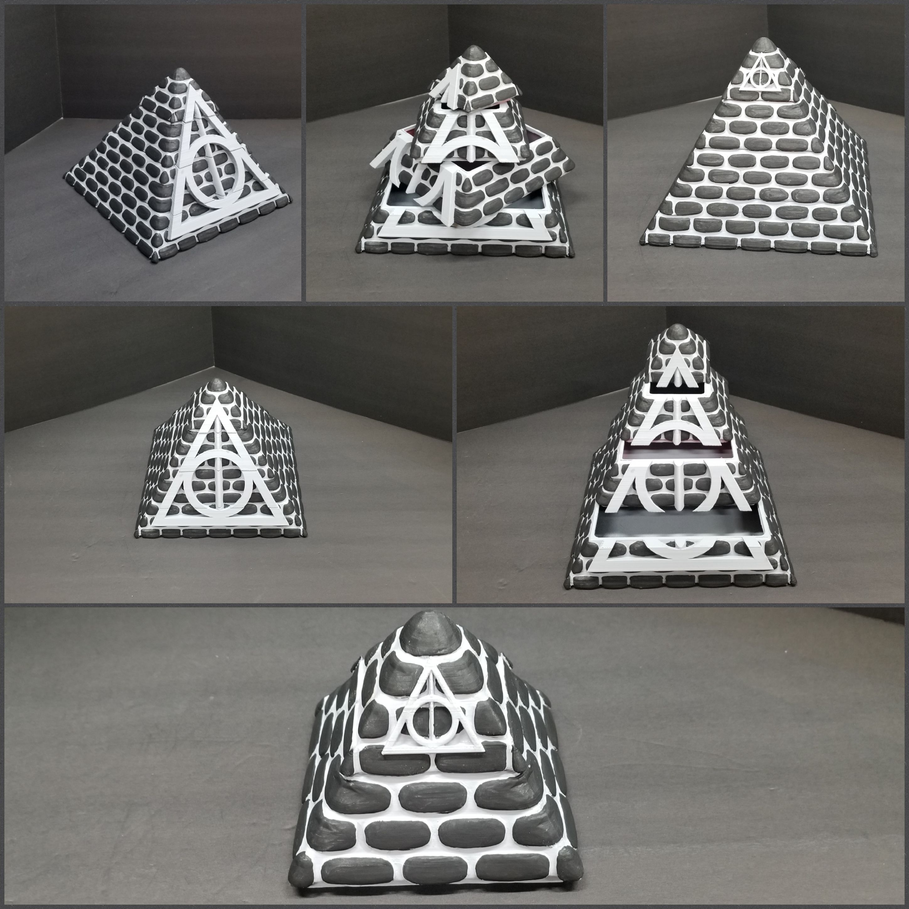 20190529_164804[1].jpg Download free STL file POTTER PYRAMID BOX with a Chamber of secrets • Template to 3D print, LittleTup