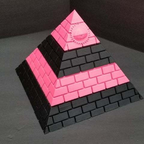 Descargar archivo 3D gratis Illuminati Pyramid caja de almacenamiento secreto BETTER FIT!, LittleTup