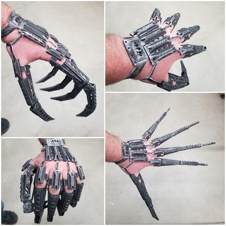 20200331_224113.jpg Télécharger fichier STL Doigts et pouces de robot et MISE À JOUR avec parties de doigts plus longues 3 tailles • Design à imprimer en 3D, LittleTup