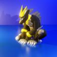 lasthorn.3png.png Download free STL file Last Golden Horn • 3D printer object, LittleTup