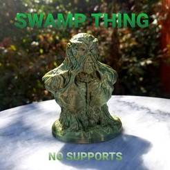 Download free 3D printer files SWAMP THING, LittleTup