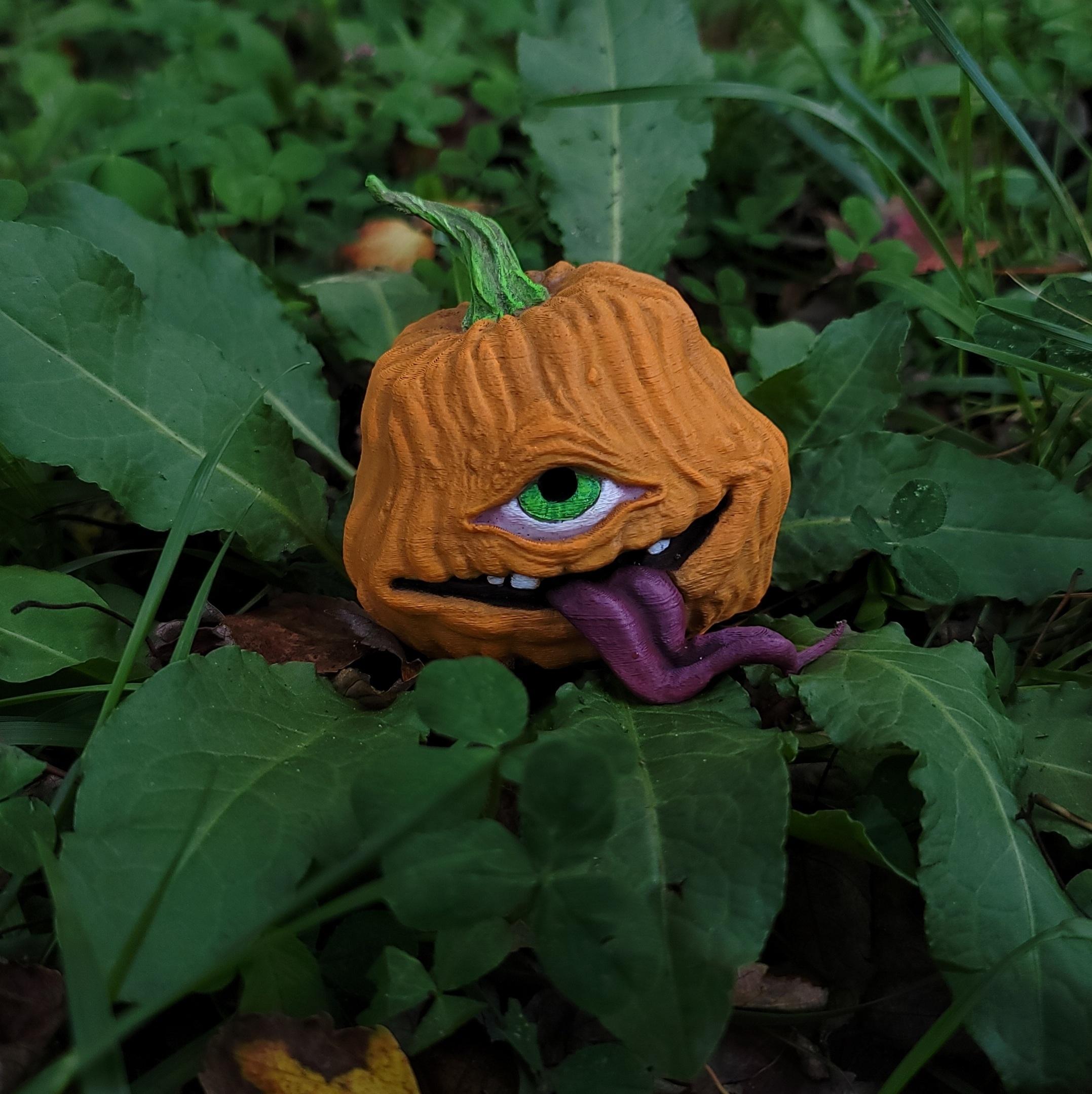 20201004_151125.jpg Download free STL file TofuRevolution's One-eyed pumpkin  • 3D printable template, LittleTup