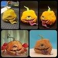 20201004_053013.jpg Download free STL file TofuRevolution's One-eyed pumpkin  • 3D printable template, LittleTup