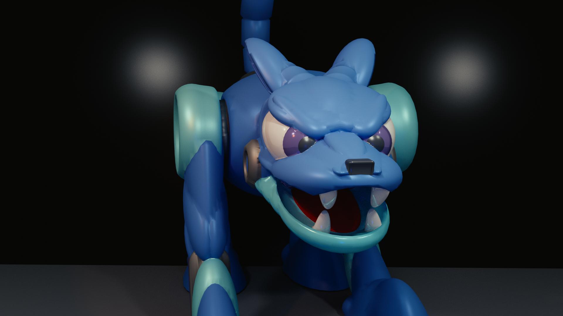 dognew1.png Download free STL file HOT DOG from MEGAMAN 2 • Design to 3D print, LittleTup