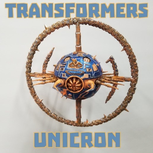 Download free 3D printing files Transformers UNICRON, LittleTup