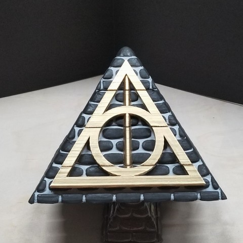 good3.jpg Download free STL file POTTER PYRAMID BOX with a Chamber of secrets • Template to 3D print, LittleTup
