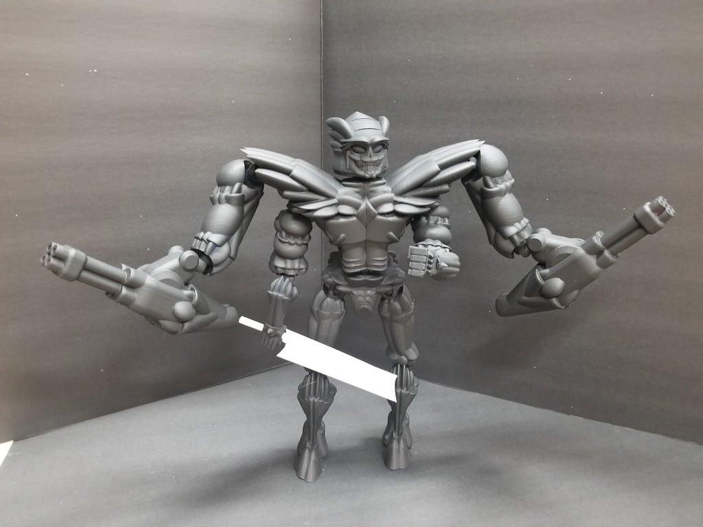 39c7a814946008f44a8d4769f4e7c219_display_large.jpg Télécharger fichier STL gratuit Robot articulé personnalisable • Plan pour impression 3D, LittleTup