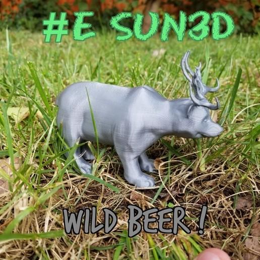 zombomeme12092019154619_514684929696956.jpg Télécharger fichier STL gratuit #ESUN3D WILD BEER • Modèle à imprimer en 3D, LittleTup