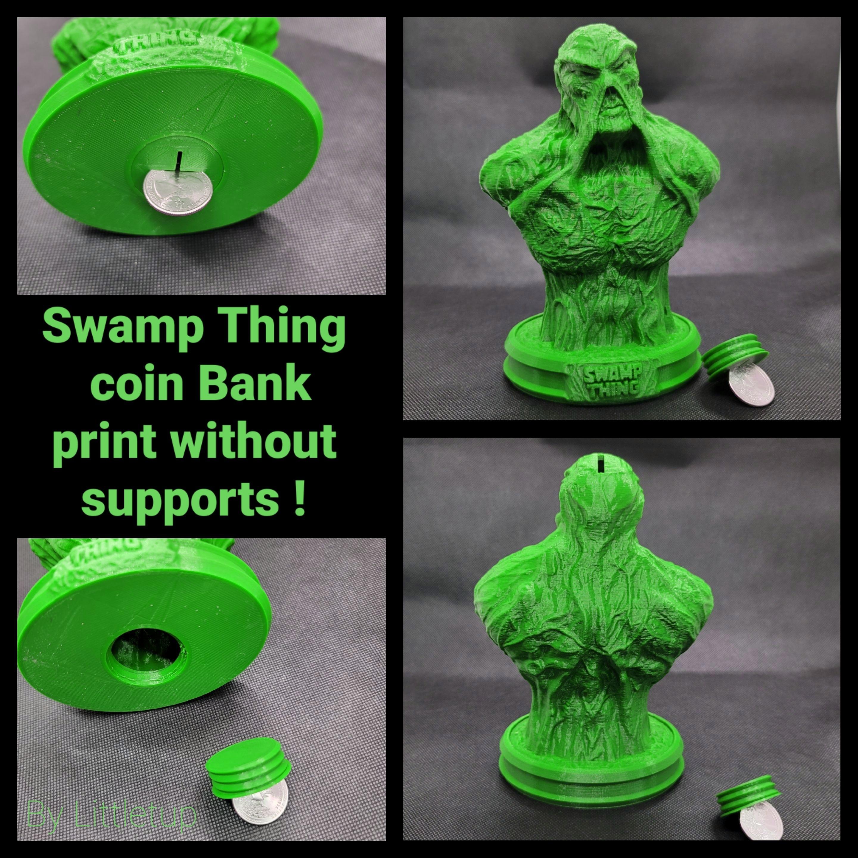 20201115_142757.jpg Télécharger fichier STL gratuit SWAMP THING 2.0 banque de pièces • Design imprimable en 3D, LittleTup