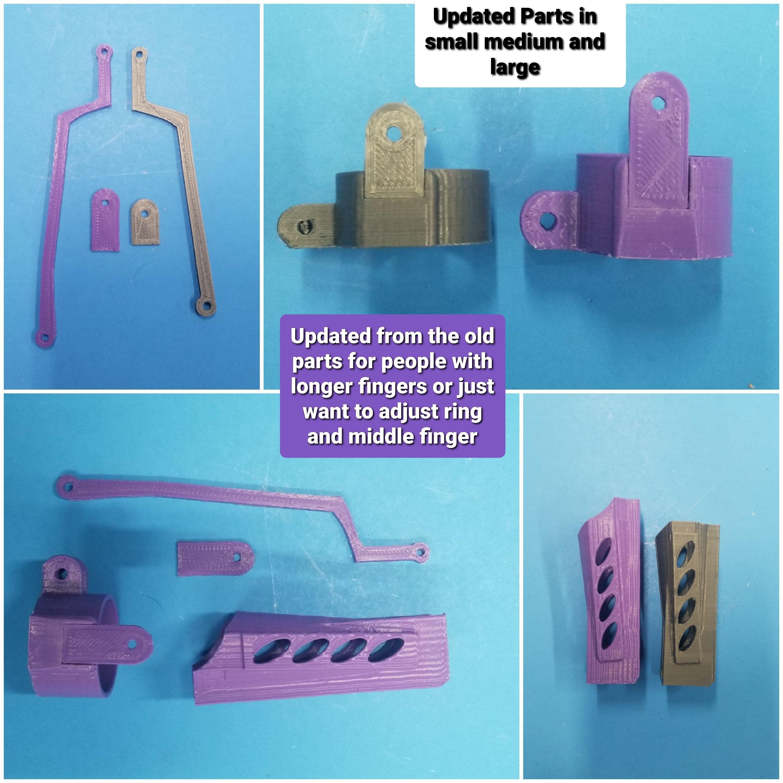 20200413_210523.jpg Télécharger fichier STL Doigts et pouces de robot et MISE À JOUR avec parties de doigts plus longues 3 tailles • Design à imprimer en 3D, LittleTup
