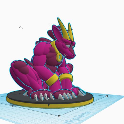 Last_Golden_Horn.png Download free STL file Last Golden Horn • 3D printer object, LittleTup