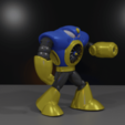Download free 3D printing models AIRMAN from MEGAMAN2, LittleTup