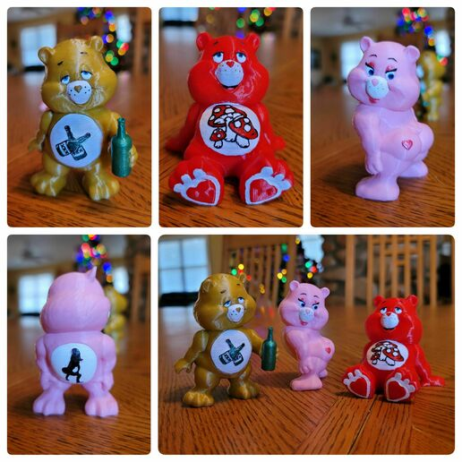 20201227_151303.jpg Download STL file No Care Bear Collection #2 • 3D print object, LittleTup