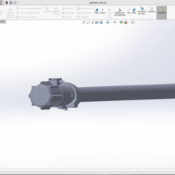 Download 3D printer designs Star wars 3d lightsaber, benoitcrespo