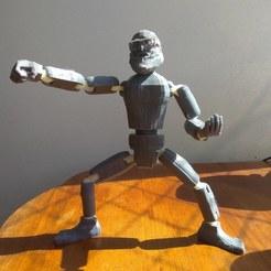 Download free STL file Paulo Freire super hero • 3D printable model, guikominami