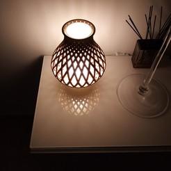 Télécharger fichier impression 3D Lampe et vase, rom1pelletier