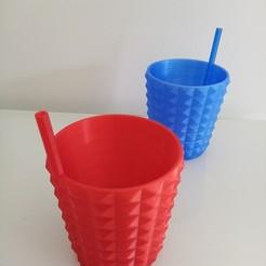IMG_20200515_140407.jpg Télécharger fichier STL Verre paille  • Plan à imprimer en 3D, rom1pelletier
