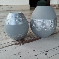 Télécharger fichier impression 3D gratuit vases déco lunaires, rom1pelletier