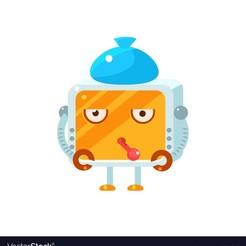 robot with flu.jpg Télécharger fichier STL gratuit Robot avec la grippe • Plan pour imprimante 3D, osvaldos_trailer
