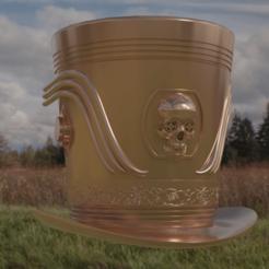 Descargar archivos 3D sombrero de copa steampunk, rodrigo11o11