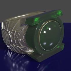 Download STL file Green lantern ring • Design to 3D print, rodrigo11o11