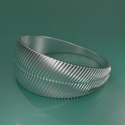 Download STL file RING 032 • 3D print design, rodrigo11o11