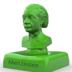 Descargar STL Albert Einstein, rodrigo11o11